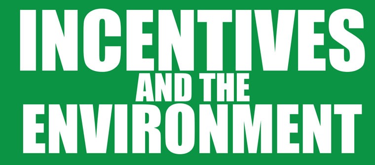 Incentives and the Evironment Book