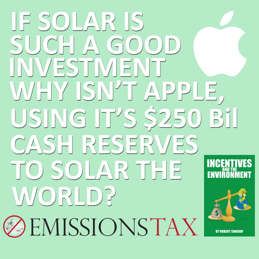 Apple Solar Panels