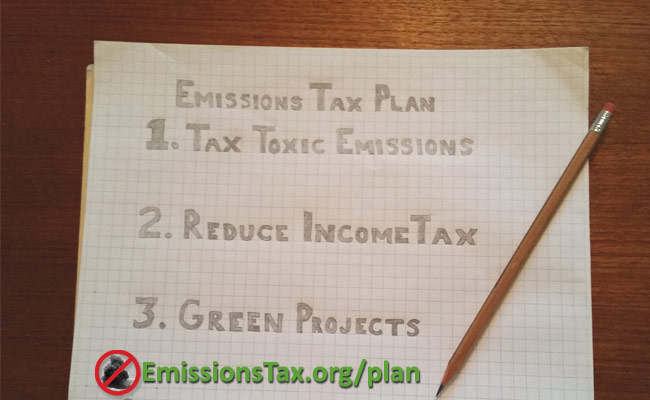 Draft - Emissions Tax Plan