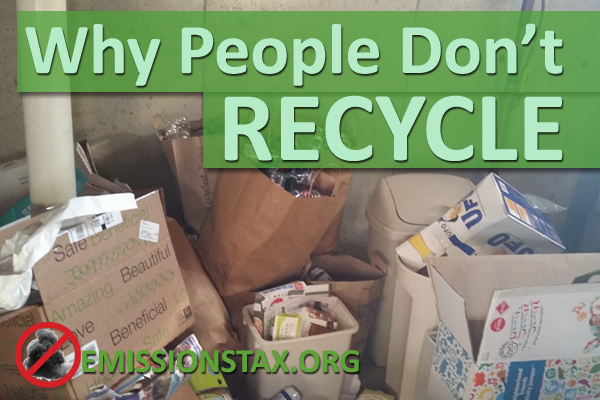 Why People Don't Recycle More