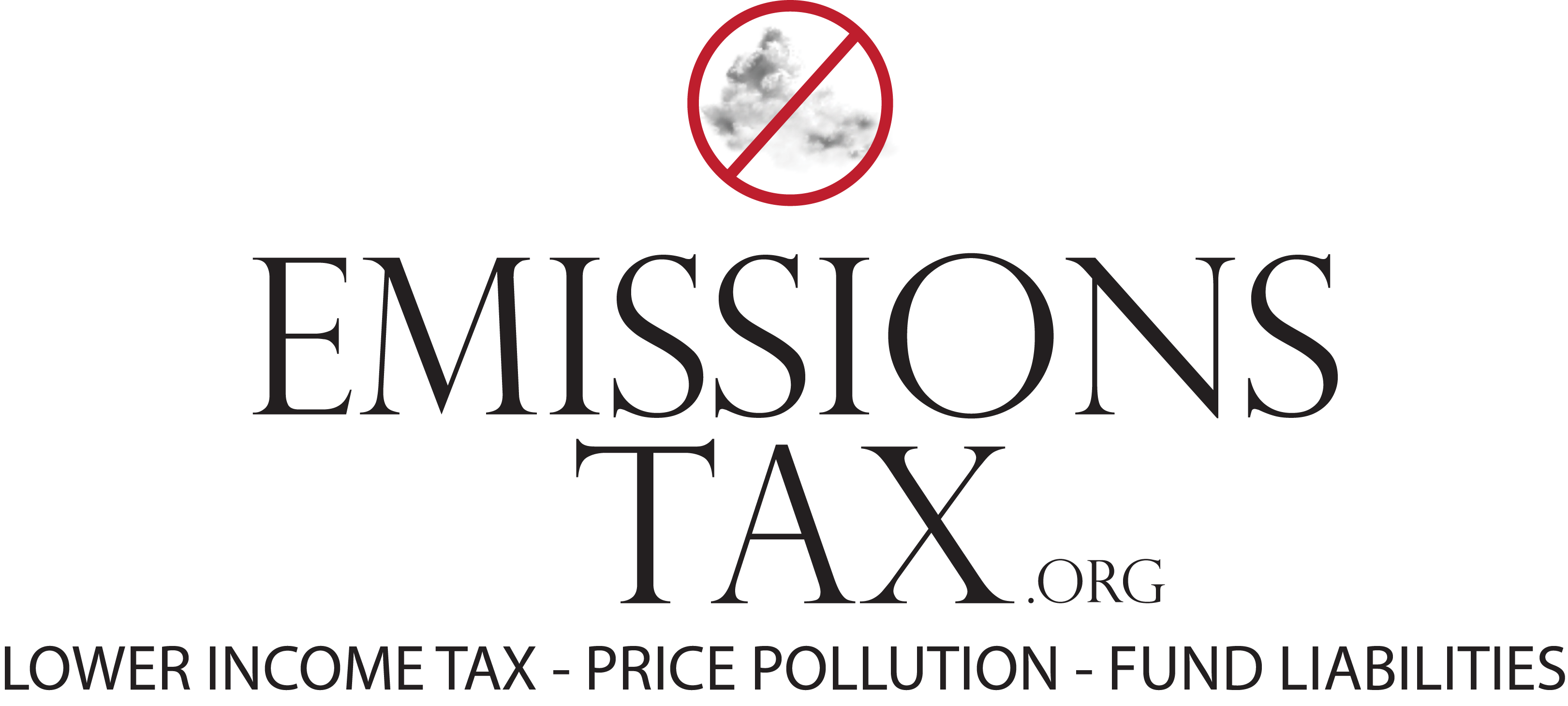EmissionsTax - Lower Income Tax, Price Pollution, Fund Liabilities
